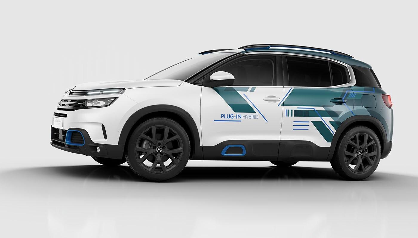 NEW CITROEN C5 AIRCROSS SUV PLUG IN HYBRID CONCEPT